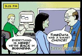 Рекламный комикс для IT 5. Студия комиксов на заказ.