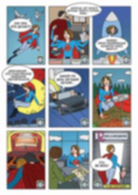 Комикс в подарок начальнице стр. 2