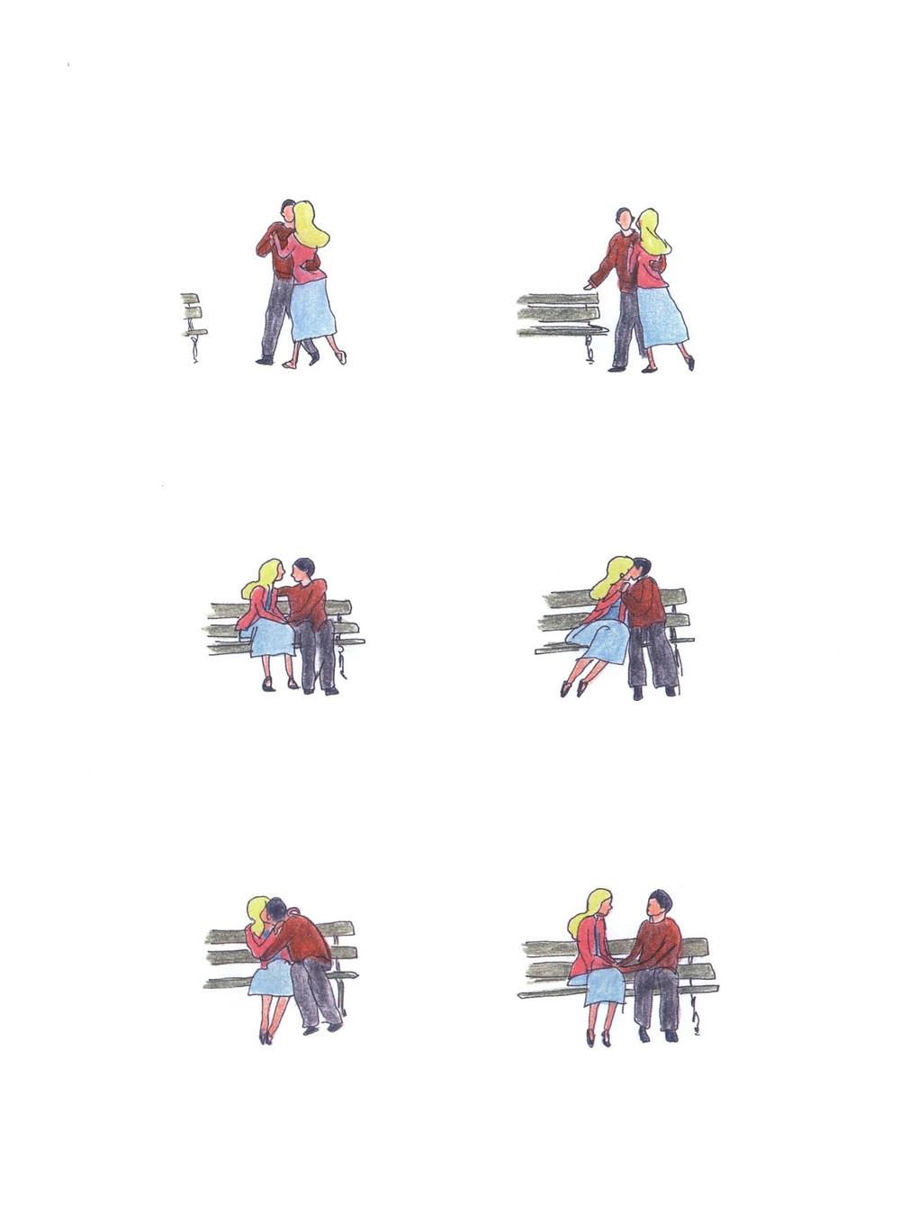 "Романтический комикс об отношениях. ""Бойня"", Бастиен Вивес. Страница 82"