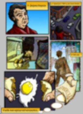 Новостной комикс на заказ об увольнении Кларксона