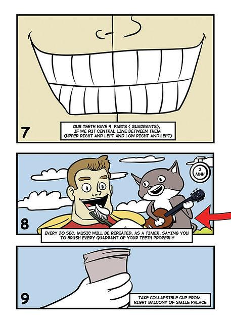 Комикс для бизнеса. Инструкция в картинках. Смайленджер. 4