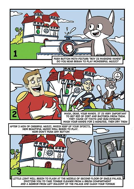 Комикс для бизнеса. Инструкция в картинках. Смайленджер. 2