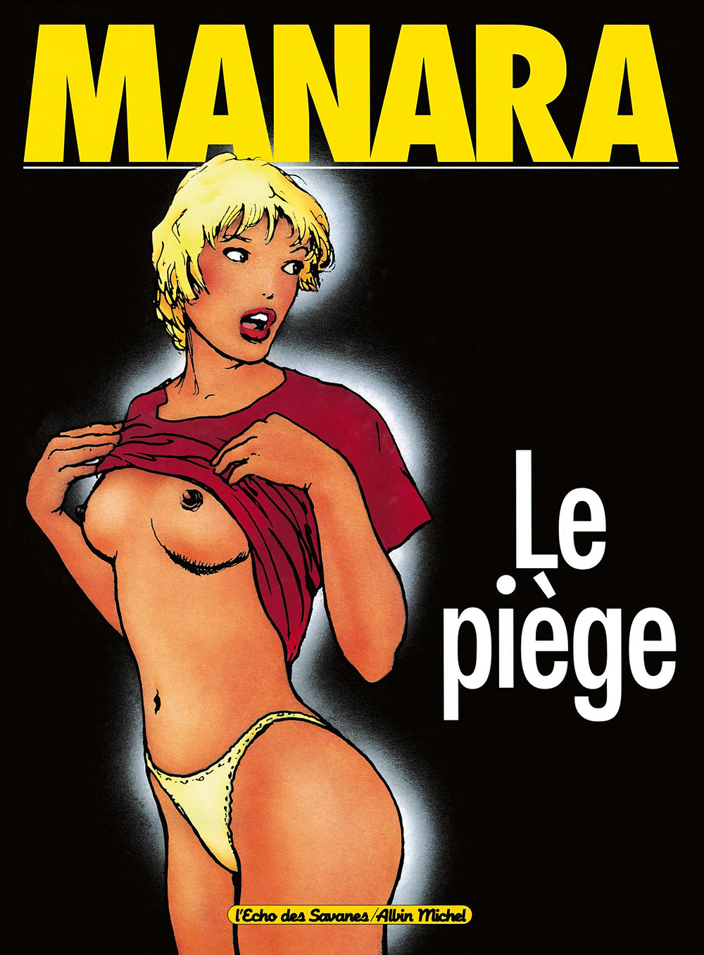 "Комикс ""Ловушка"". Маурилио Манара. Эротический комикс."