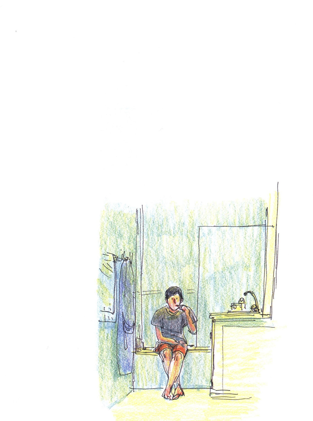 "Романтический комикс об отношениях. ""Бойня"", Бастиен Вивес. Страница 26"