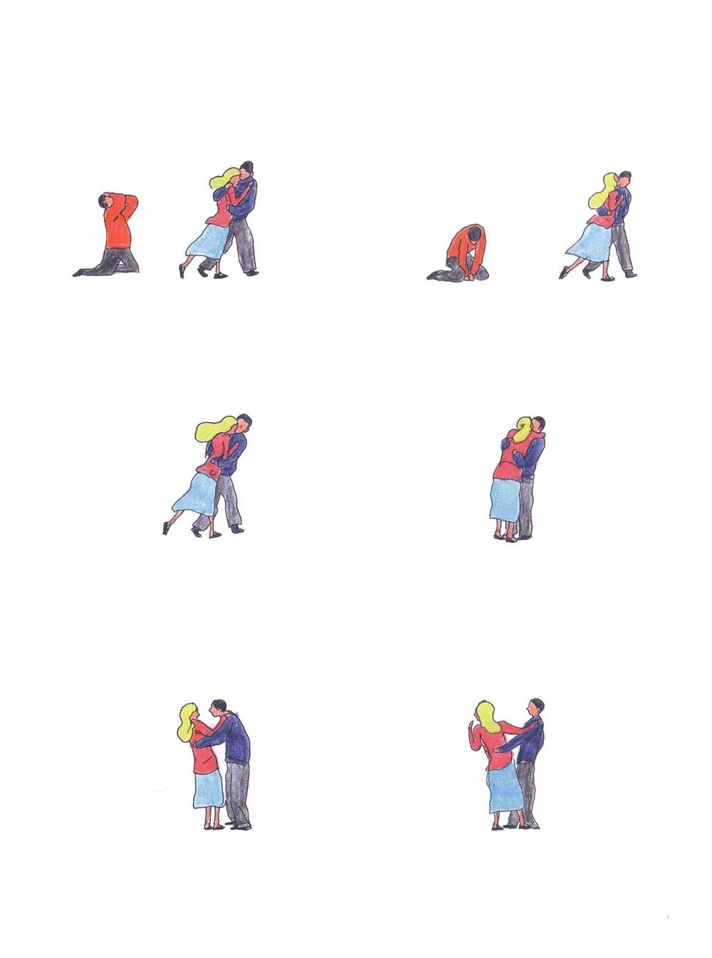 "Романтический комикс об отношениях. ""Бойня"", Бастиен Вивес. Страница 79"