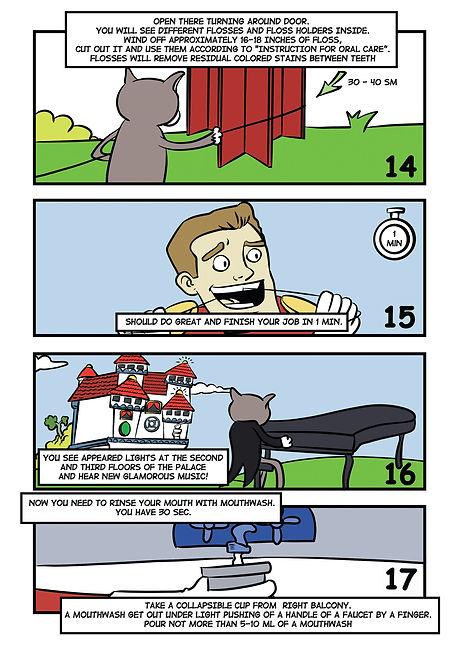 Комикс для бизнеса. Инструкция в картинках. Смайленджер. 6