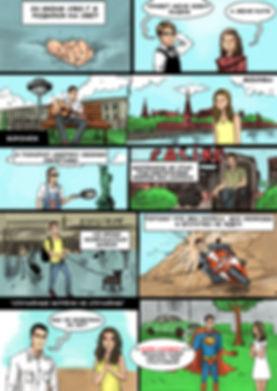 Комикс в подарок другу