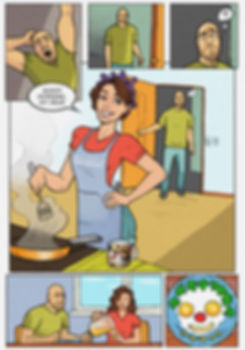 Лирический комикс. Стр. 2
