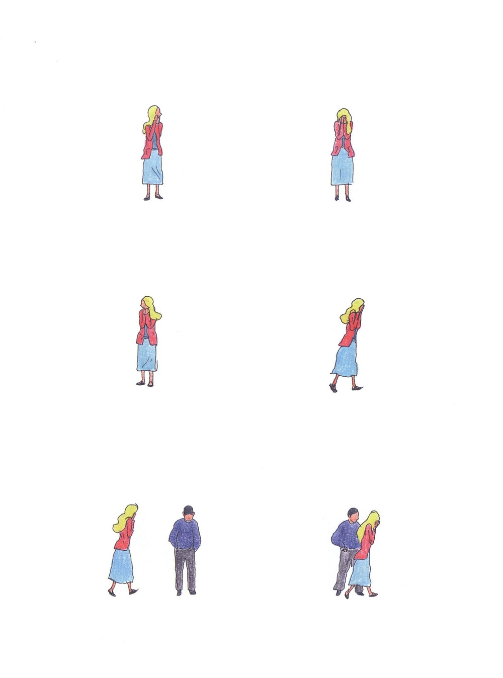 "Романтический комикс об отношениях. ""Бойня"", Бастиен Вивес. Страница 76"