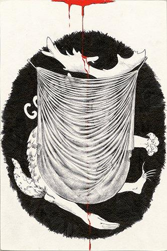 "Советский нонконформизм. Дмитрий Александрович Пригов. Картина ""Голем"". 1984"