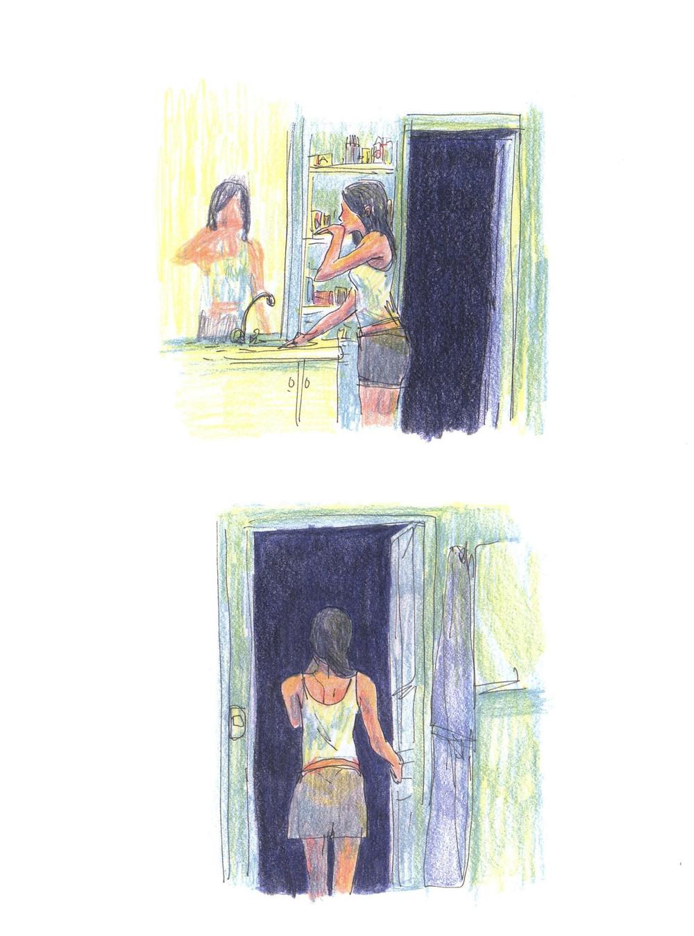 "Романтический комикс об отношениях. ""Бойня"", Бастиен Вивес. Страница 25"