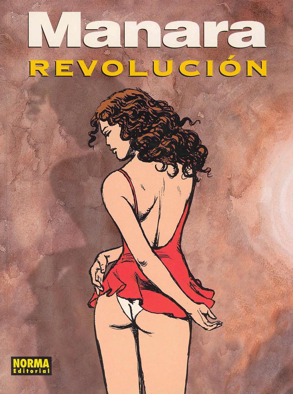 "Комикс ""Революция"". Маурилио Манара. Эротический комикс."