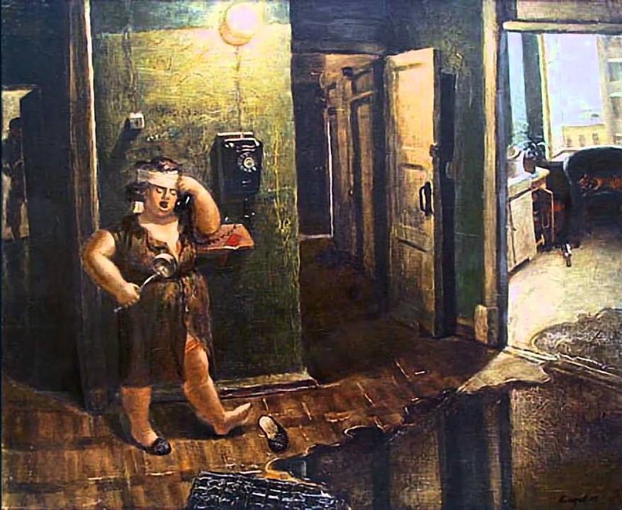 """Картина Василия Колотева """"АЛЕ"""". Советские нонконформисты."""
