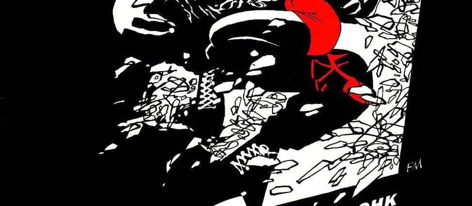 """Классический комикс Город Грехов. """"Крошка Носит Красное""""."""