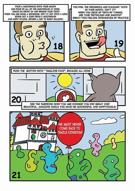 Комикс для бизнеса. Инструкция в картинках. Смайленджер. 7