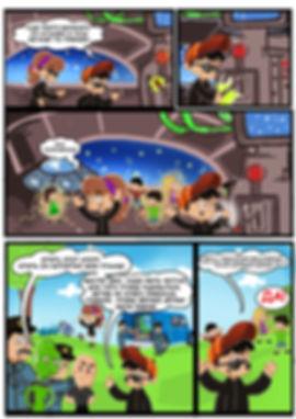 Комикс листовка. Студия комиксов Vaes Okshn