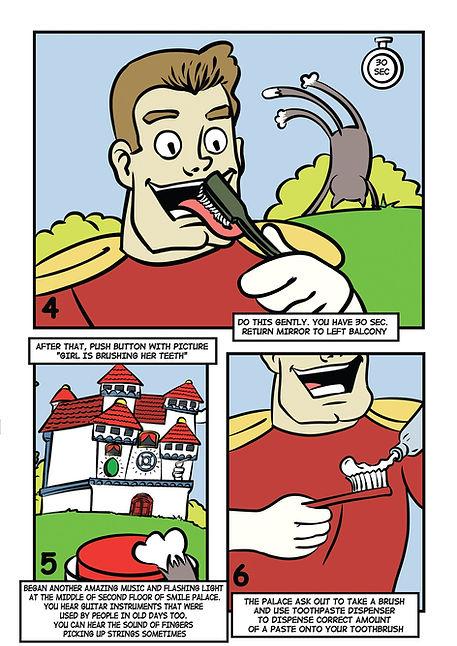 Комикс для бизнеса. Инструкция в картинках. Смайленджер. 3