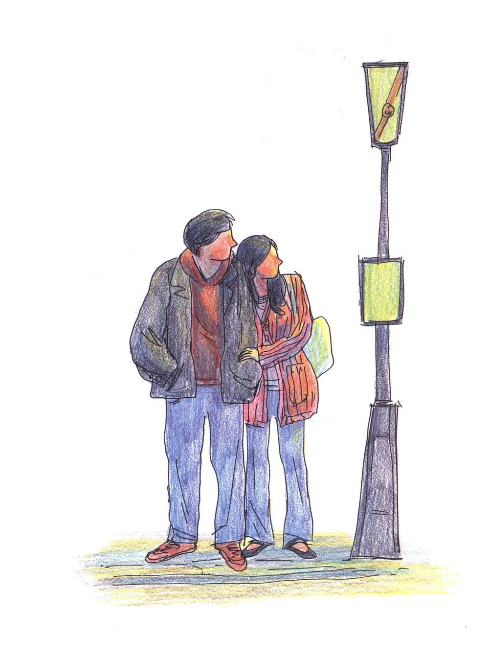 "Романтический комикс об отношениях. ""Бойня"", Бастиен Вивес. Страница 33"