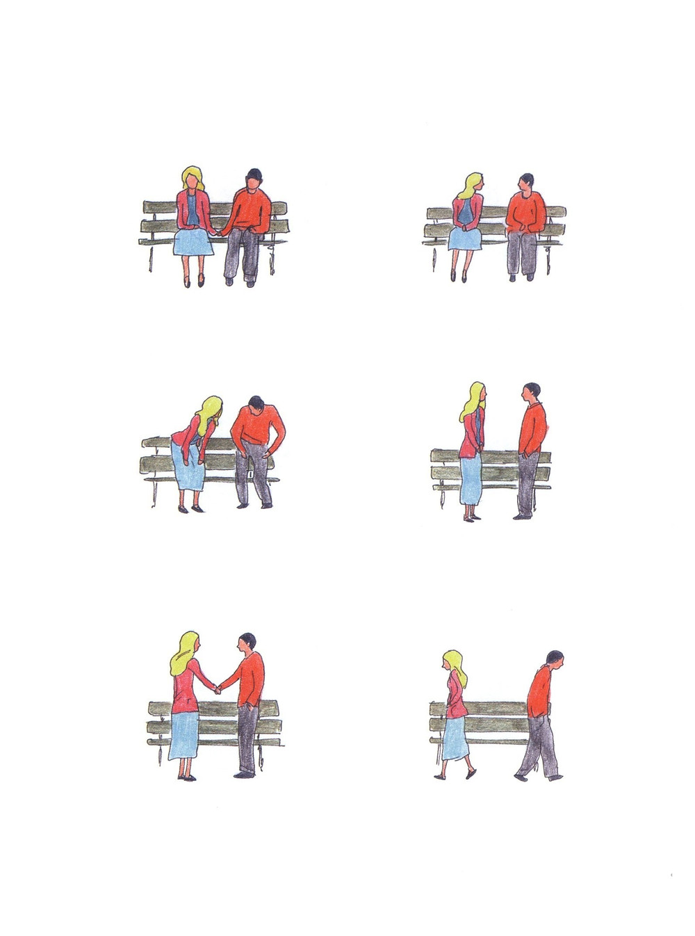 "Романтический комикс об отношениях. ""Бойня"", Бастиен Вивес. Страница 83"