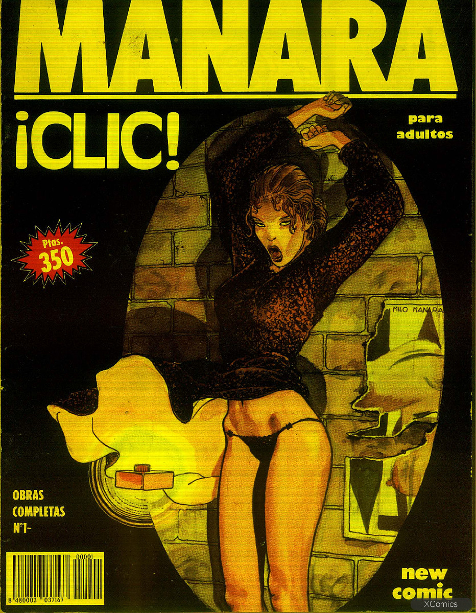 "Комикс ""Клик"". Маурилио Манара. Эротический комикс."