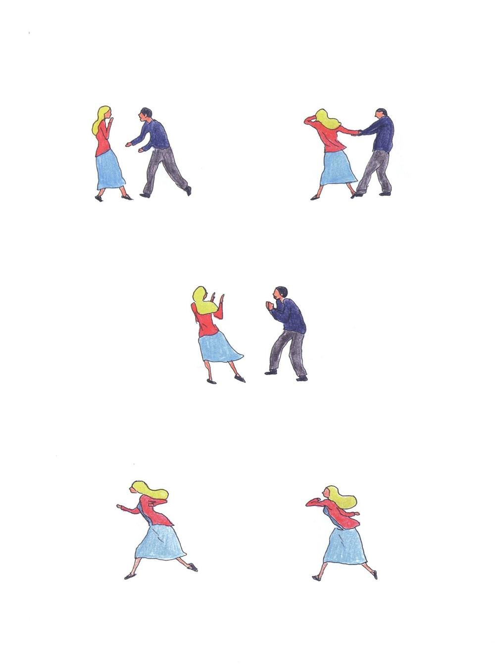 "Романтический комикс об отношениях. ""Бойня"", Бастиен Вивес. Страница 80"