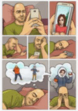 Лирический комикс. Стр. 1