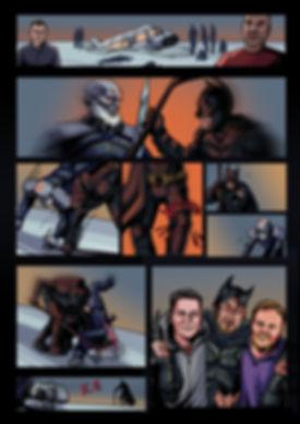 """Фрагмент комикса """"Бэтмен против ходаков"""""""