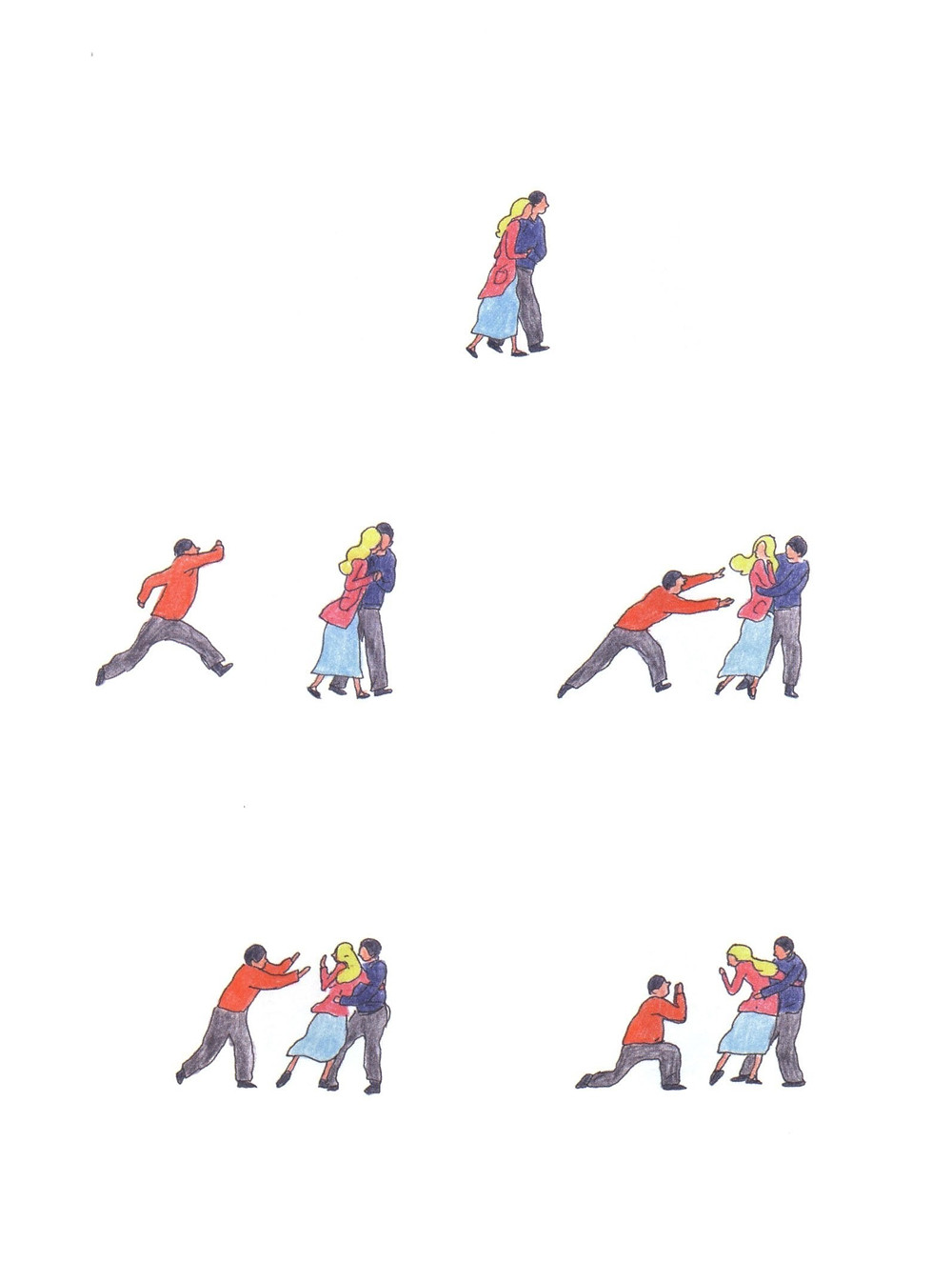 "Романтический комикс об отношениях. ""Бойня"", Бастиен Вивес. Страница 78"