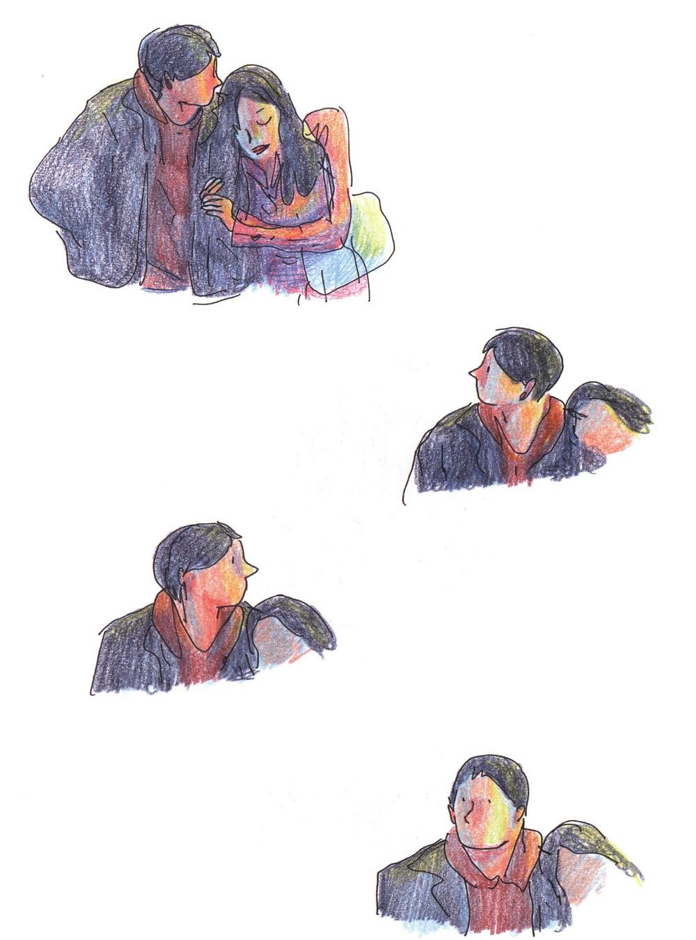 "Романтический комикс об отношениях. ""Бойня"", Бастиен Вивес. Страница 34"