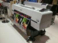 Печать комиксов на плоттере
