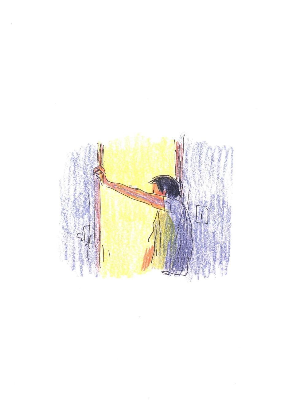 "Романтический комикс об отношениях. ""Бойня"", Бастиен Вивес. Страница 7"