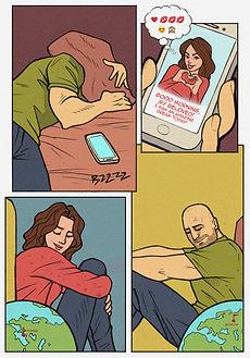 Авторский комикс в подарок для друга