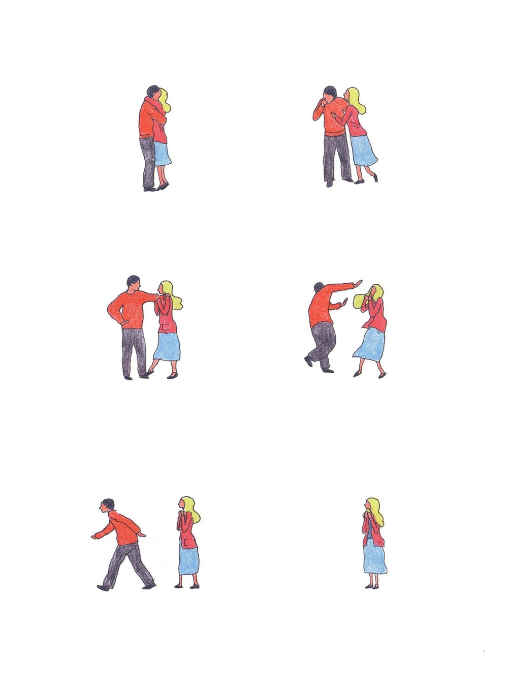 "Романтический комикс об отношениях. ""Бойня"", Бастиен Вивес. Страница 75"