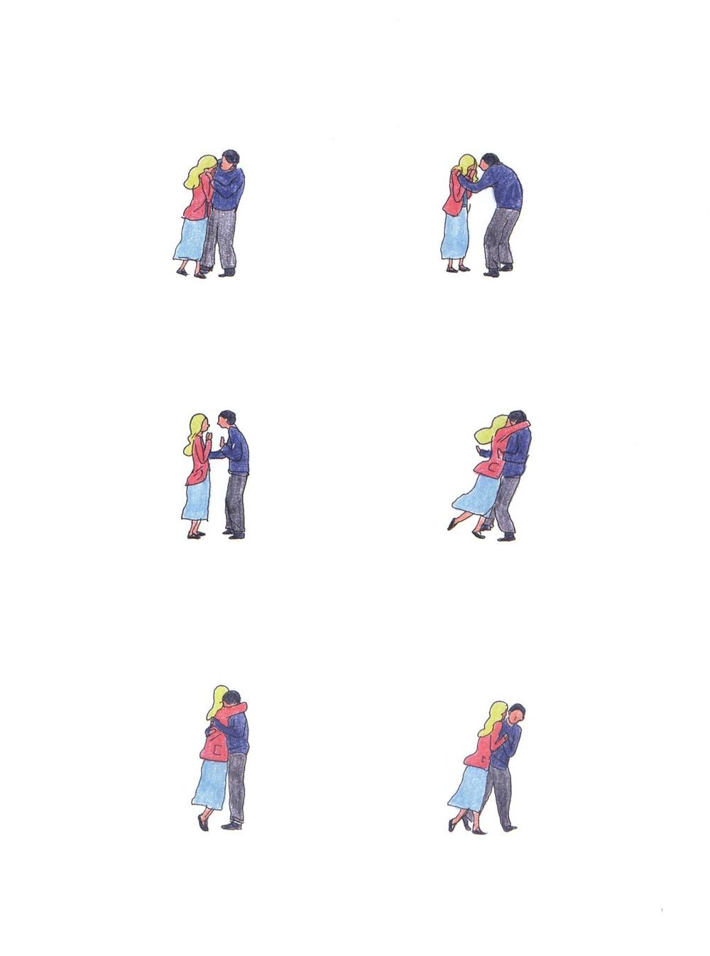 "Романтический комикс об отношениях. ""Бойня"", Бастиен Вивес. Страница 77"