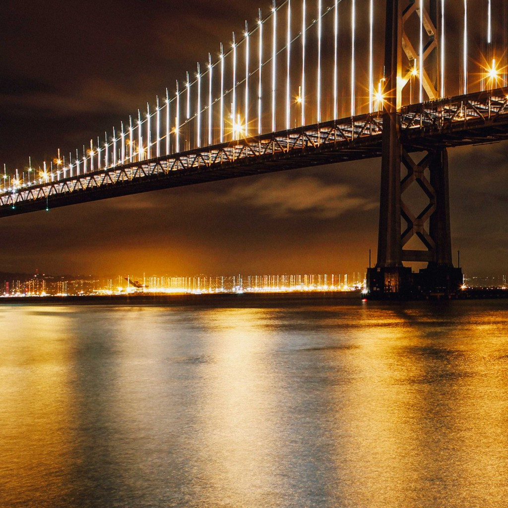 The-Bay-Bridge-at-night-San-Francisco-Re