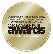 2020 SafeWork NSW Awards outstanding response COVID-19 small business metro #Safeworkawards Safe Work NSW