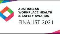 Finalist, Australian Workplace Health & Safety Awards 2021