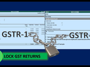 Solution for Mismatches in Filed GSTR-1 & GSTR-3B in Tally.ERP Release 6.6