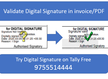 How to Validate Digital Signature in Invoice/PDF Document