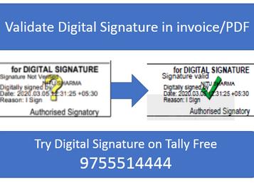 How to Validate Digital Signature in Invoice/PDF Document
