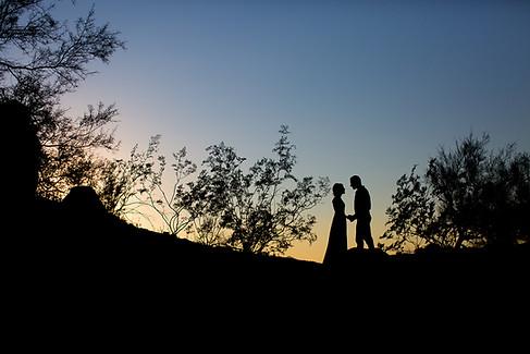 camelback sunset wedding