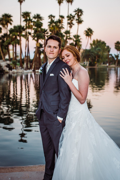 Paige and Justin wedding photo