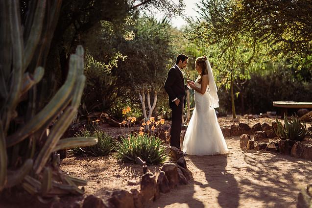 botanical garden couples photo
