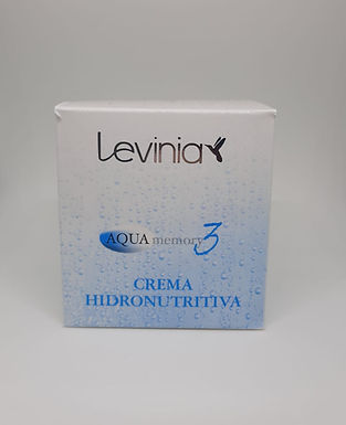 Crema Hidronutritiva Aqua Memory 3 - Levinia
