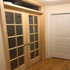 New Frech Doors