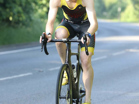 An outright win and course record for Ollie Pritchard