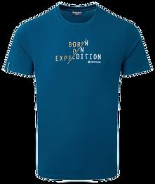 BORN ON EXPEDITION T-Shirt(ボーンオン エクスペディション Tシャツ)カラー/ NARWHAL BLUE