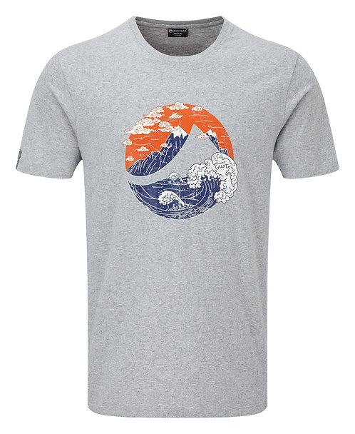 Great Mountain T-Shirt(グレートマウンテン Tシャツ)カラー/ GREY MARL