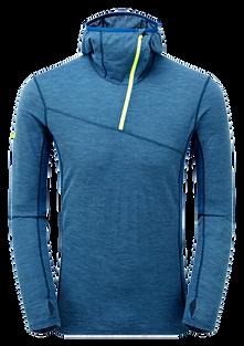Primino Hybrid Alpine Hoodie(プリミノ ハイブリッド アルパインフーディー)カラー/NARWHAL BLUE