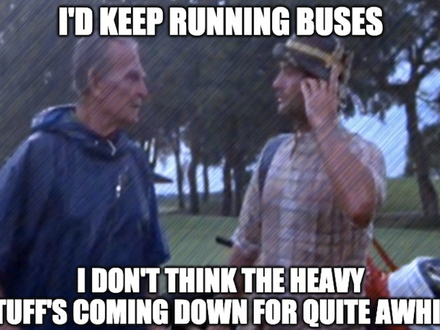 Boxcar's Commuting Plans